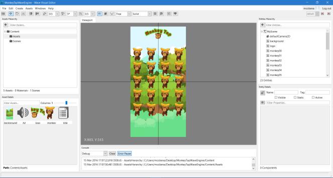 WaveVisualEditorScreenshot